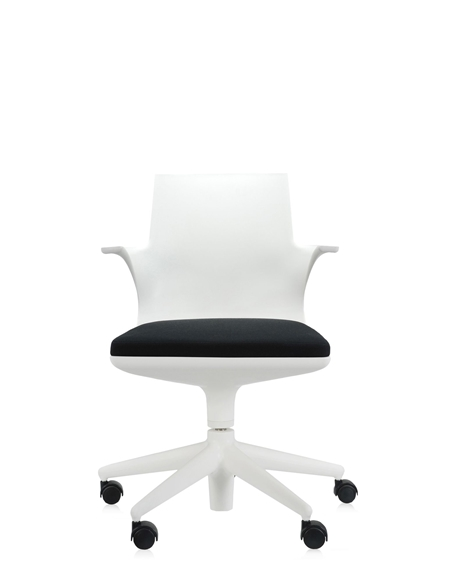 Sedia Kartell Spoon chair kartell bianco nero scontato del -30 ...