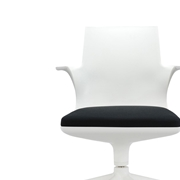 Spoon Chair Kartell bianco nero