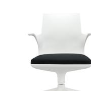 Spoon Chair Kartell bianco nero