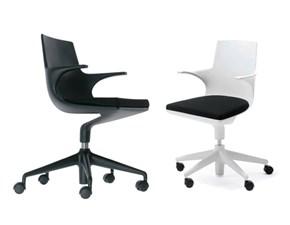 SEDIA Kartell Spoon chair PREZZI OUTLET