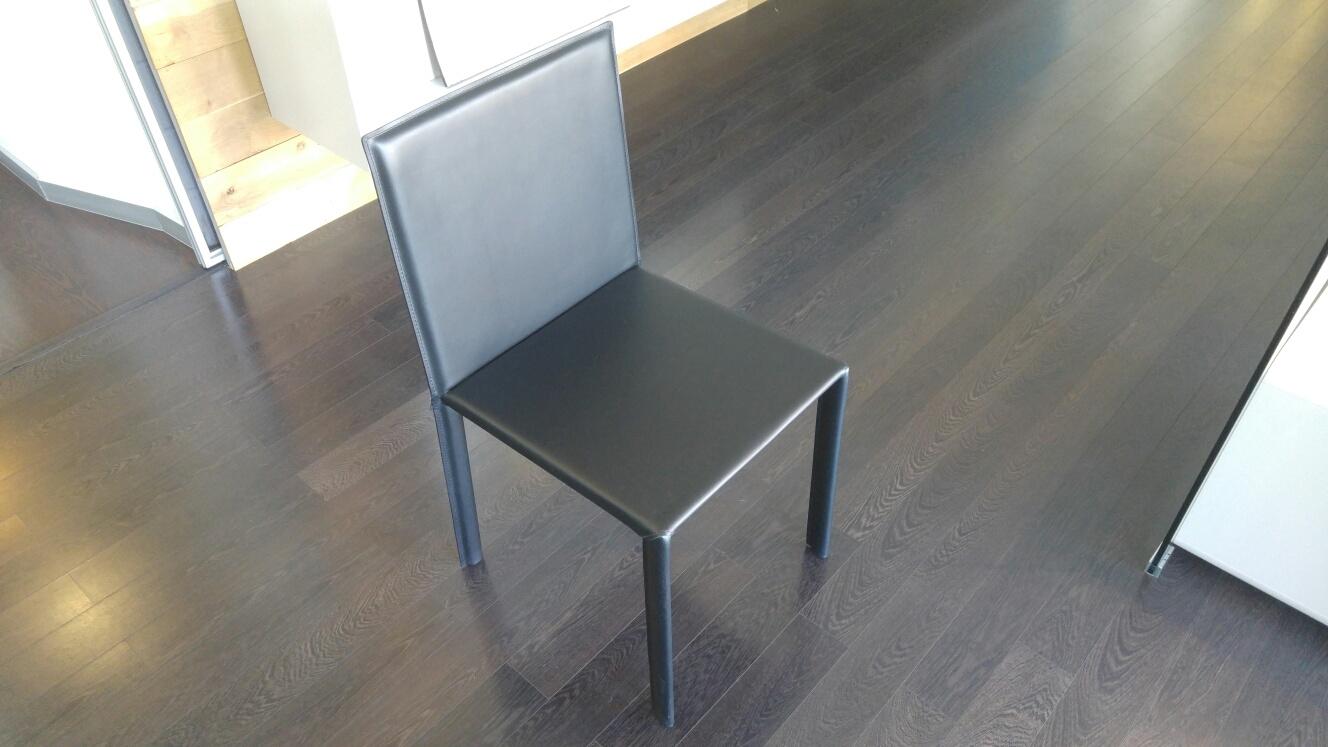 Sedie cuoio roma for Sconti sedie