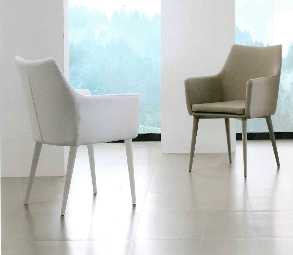 Sedia la seggiola armonia ecopelle moderno poltroncina for La sedia camomilla