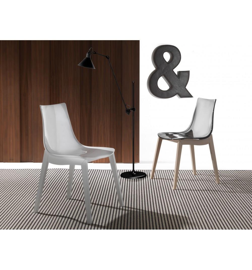 Sedia la seggiola orbital wood plastica moderno ergonomica - Sedia ergonomica prezzi ...