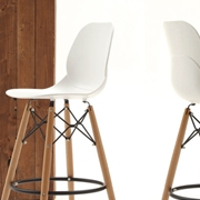 Sedia La Seggiola mod. Shell stool art. 522