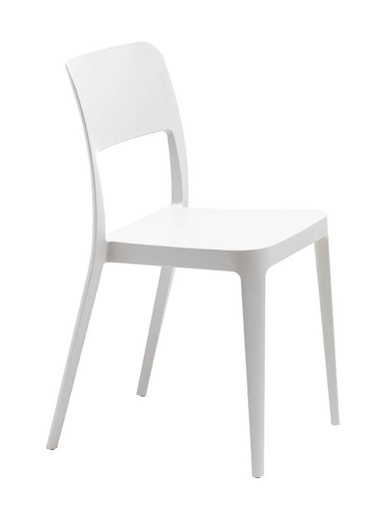 Sedia midj nen plastica sedie a prezzi scontati for Sedia design bianca