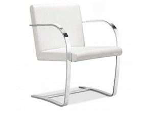 Sedia Mies van chair made in italy Artigianale a prezzo scontato