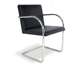 Sedia Mies van chair made in italy Sigerico SCONTATA 43%