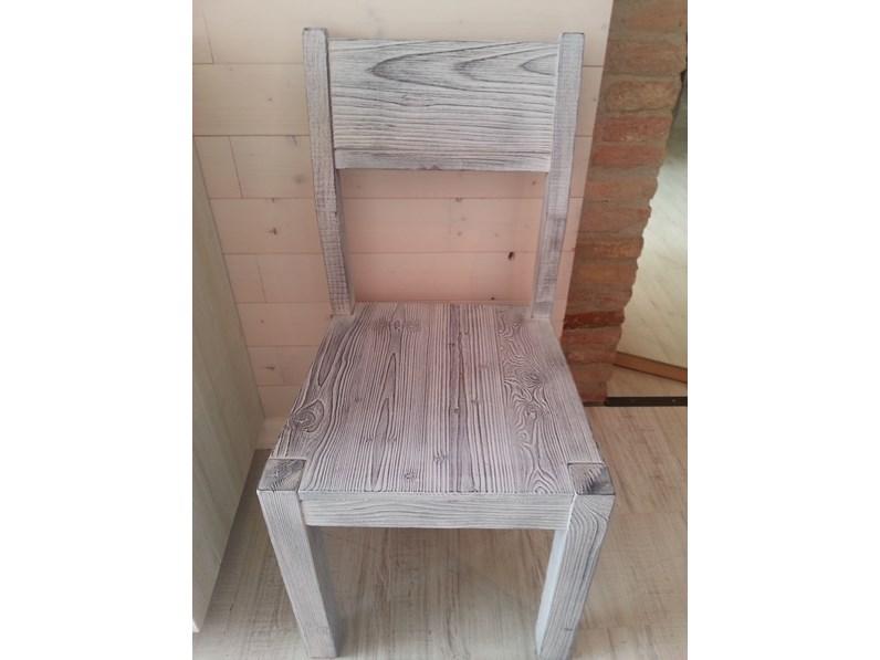 Sedia moderna in legno massello in promozione for Sedie design vicenza