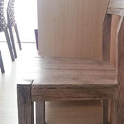 Sedia Mirandola Wood and city Legno Moderno