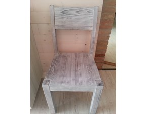 Sedia moderna in legno massello in promozione