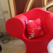 Poltrona Moroso modello Big Easy design Ron Arad