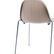 Sedia Impossible wood Moroso