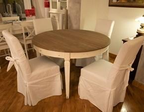 Sedia N. 4 sedie con fiocco sfoderabili Artigianale con un ribasso vantaggioso