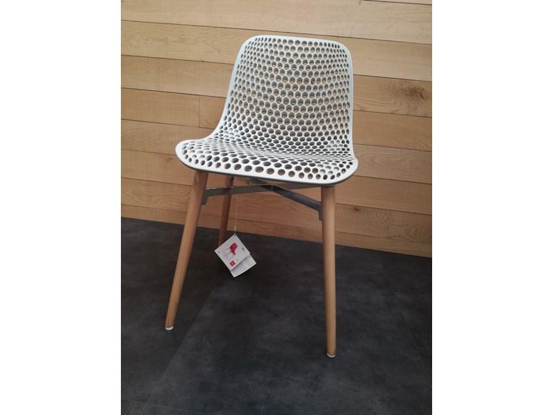 Sedia next 4 legs di infiniti in plastica di design for Outlet di mobili di design