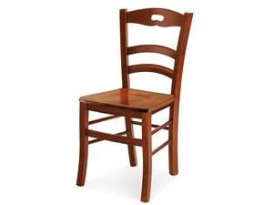 Sedia noce seduta in legno con un ribasso del 54%