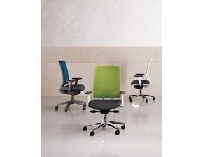 Sedia Oscar Las mobili per ufficio con uno sconto vantaggioso