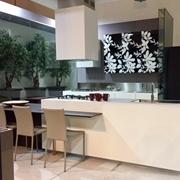 Set 4 Sedie Ozzio Design Modello Pemiere ecopelle - colori , antracite-bianca-crema caffè Impilabili.