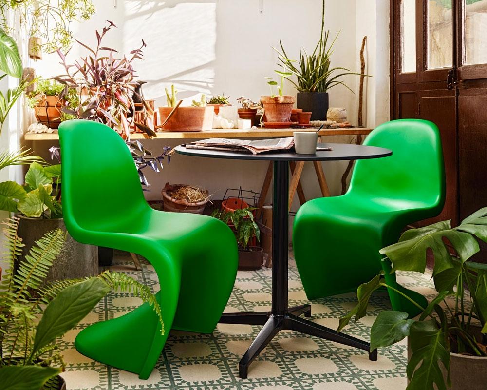 Sedia panton chair di vitra scontata del 24 sedie a - Verner panton sedia ...