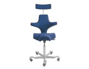Sedia per ufficio Capisco h08 8107 con appoggiatesta Hag SCONTATA