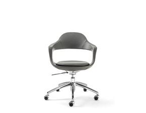 Sedia per ufficio Frenchkiss Pellizzoni in Offerta Outlet