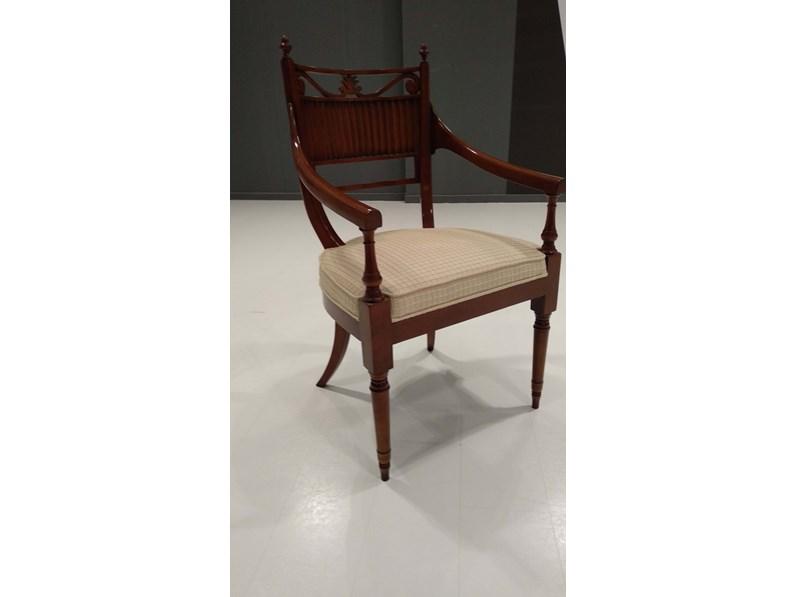 Sedia per ufficio poltroncina casa nobile scontata for Sedie per salone