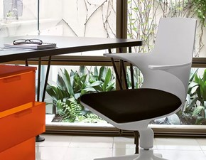 Sedia per ufficio Spoon chair  Kartell SCONTATA