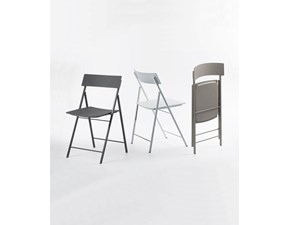 Sedia Pezzani sedia piper con carrellino Pezzani in OFFERTA OUTLET