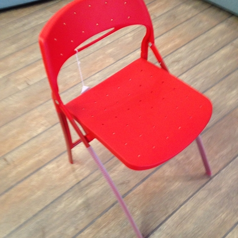 outlet sedia pieghevole arkua infiniti design