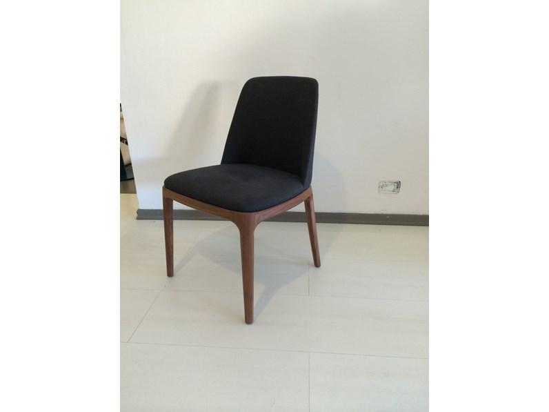 Sedia poliform poliform grace scontato del 40 for Poliform sedie