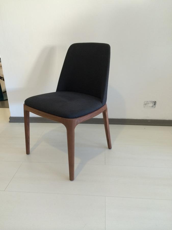 Sedia poliform poliform grace scontato del 40 sedie a for Poliform sedie