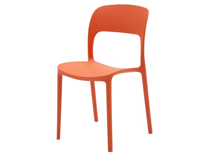 Sedie Di Plastica Colorate.Sedia Polipropilene Plastica In Offerta Outlet