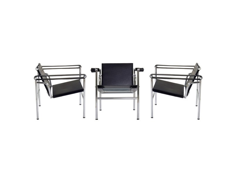 Sedia poltroncina lc1 cassina a prezzo outlet for Mobili cassina outlet