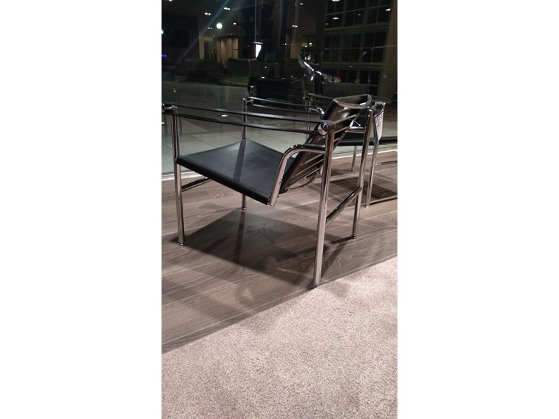 Sedie Cassina Outlet.Sedia Poltroncina Lc1 Cassina In Offerta Outlet