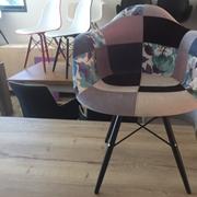 Sedia  Venezia bis Tessuto Design Con braccioli