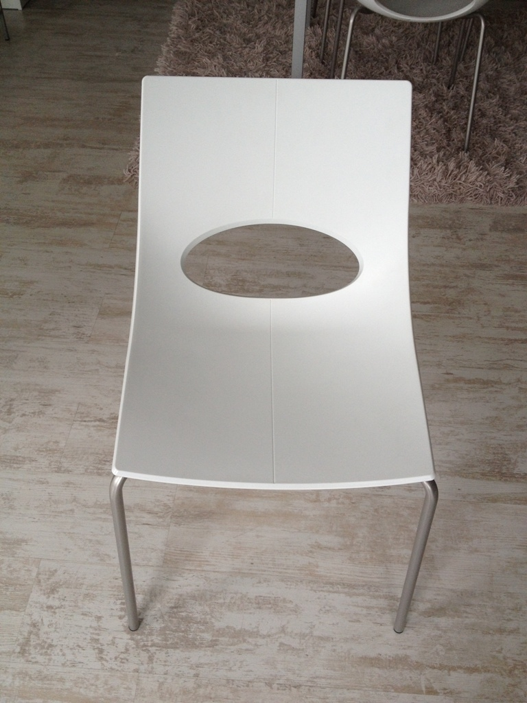 sedie scavolini outlet : Sedie SCAVOLINI mod. LOOK Bianca -26% - Sedie a prezzi scontati