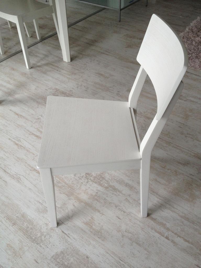 Sedia Scavolini Nr. 04 sedie scavolini mod. mika rovere sbiancato ...
