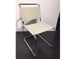Sedia senza braccioli 04 mart stam Archilab design a prezzo Outlet