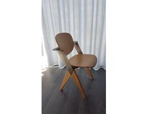 Sedia senza braccioli Anthony Nature design a prezzo ribassato