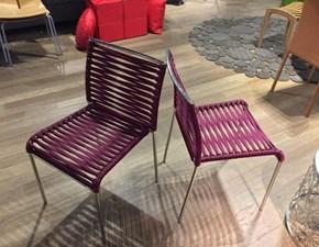 Sedia senza braccioli Aria Artigianale a prezzo ribassato