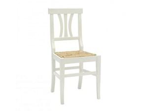 Sedia senza braccioli Art 3250 Artigianale in Offerta Outlet