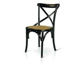 Sedia senza braccioli Art 7800 Artigianale in Offerta Outlet