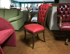 Sedia senza braccioli Aurora Vama divani in Offerta Outlet