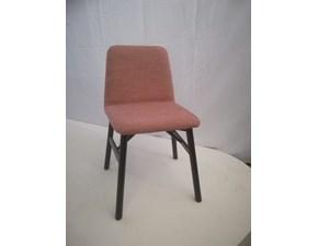 Sedia senza braccioli Bardot Temporary a prezzo ribassato