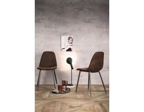Sedia senza braccioli Brigitte Artigianale a prezzo ribassato
