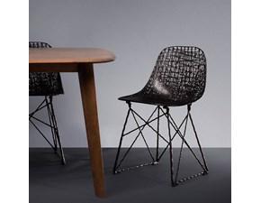 Sedia senza braccioli Carbon chair  Moooi a prezzo Outlet