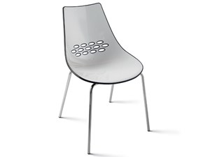Sedia senza braccioli Coquille Scavolini a prezzo Outlet