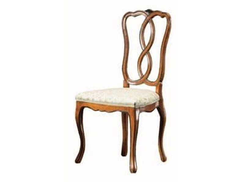 Sedia senza braccioli di Faber Mobili da soggiorno in Offerta Outlet