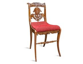 Sedia senza braccioli Fatta a mano Artigianale a prezzo ribassato