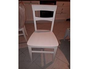 Sedia senza braccioli Fiore Callesella a prezzo scontato