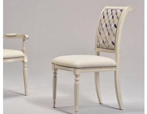Sedia senza braccioli Gabry Artigianale a prezzo ribassato